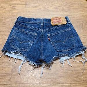 501 Levi's Cutoffs Shorts  W29 L34